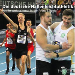 Die deutsche Hallenleichtathletik hat ihr Wohnzimmer in der Arena Leipzig
