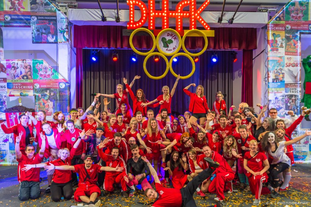Read more about the article DHfK – Jubiläums-Fasching – Mehr als 60 Jahre Leistensport