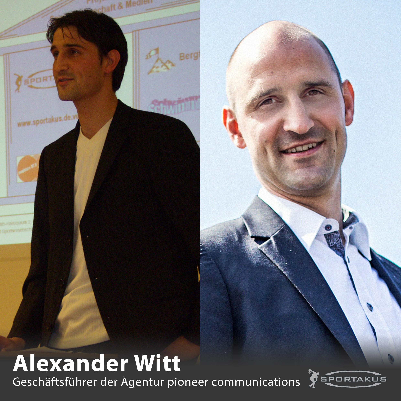 SPORTAKUS-Alumni vorgestellt – Heute: Alexander Witt