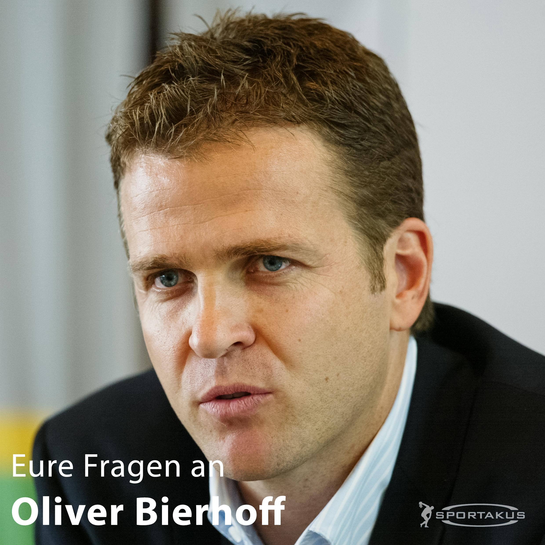 Der SPORTAKUS im Interview mit Oliver Bierhoff